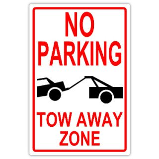 No Parking Signs Template No Parking 101