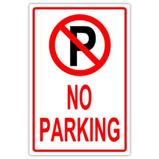 No Parking Signs Template No Parking 107