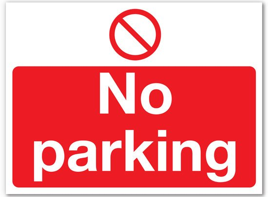 No Parking Signs Template No Parking Sign Template Clipart Best
