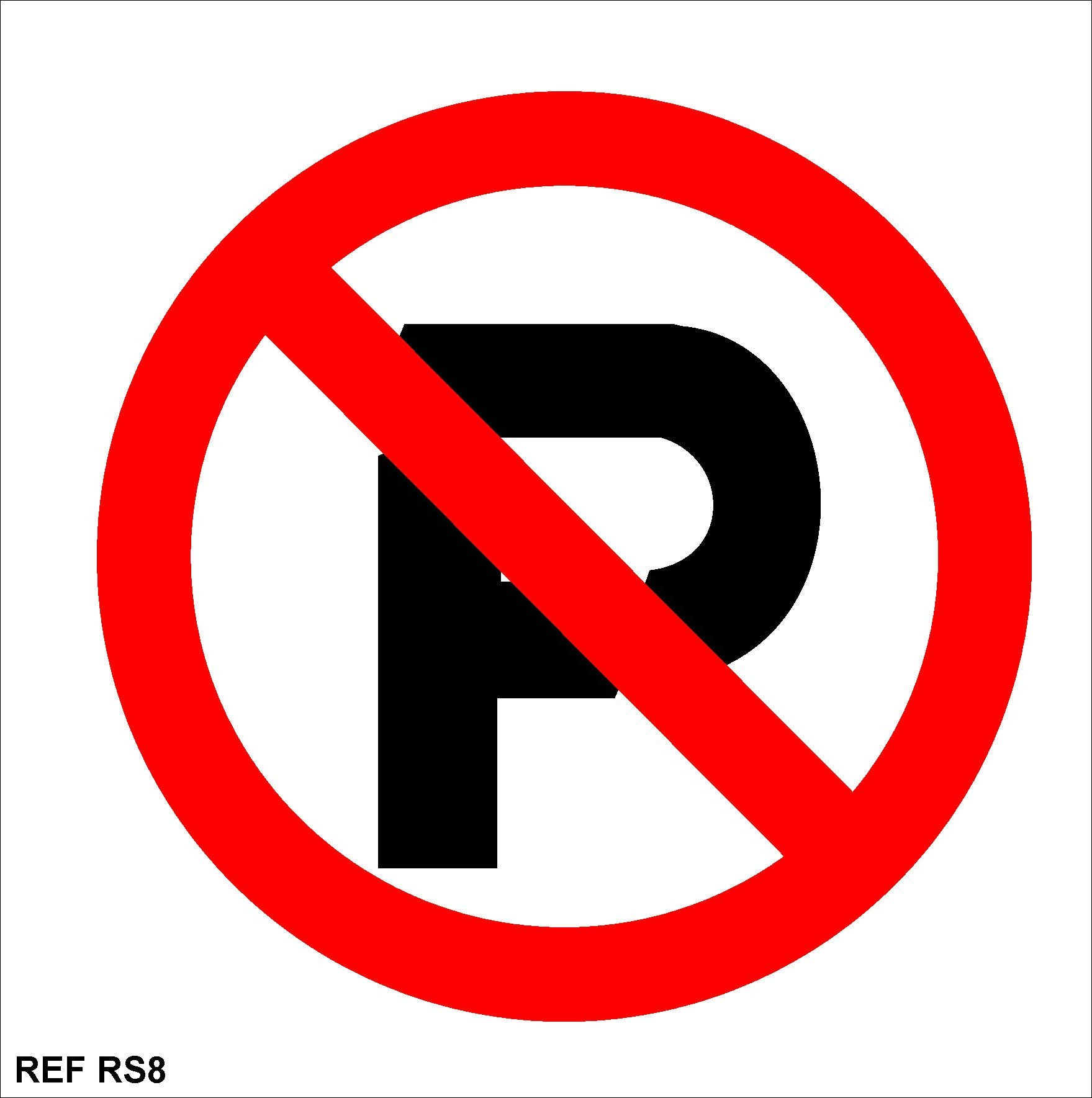 No Parking Signs Template Redfern Labels No Parking Signs 150x150 Rs 8