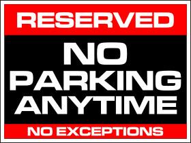 No Parking Signs Template Word Template No Parking Adorazar