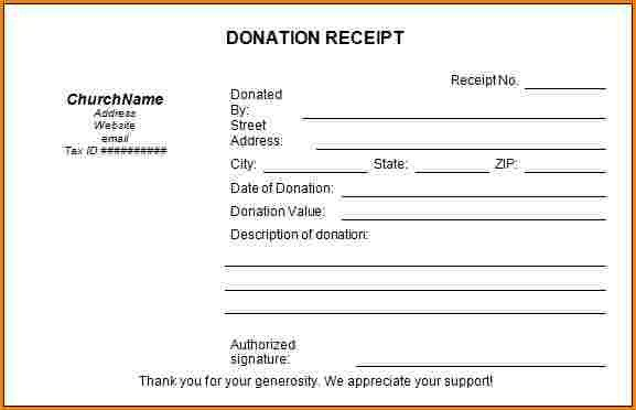 Non Profit Invoice Template 5 Sample Donation Receipt for Non Profit