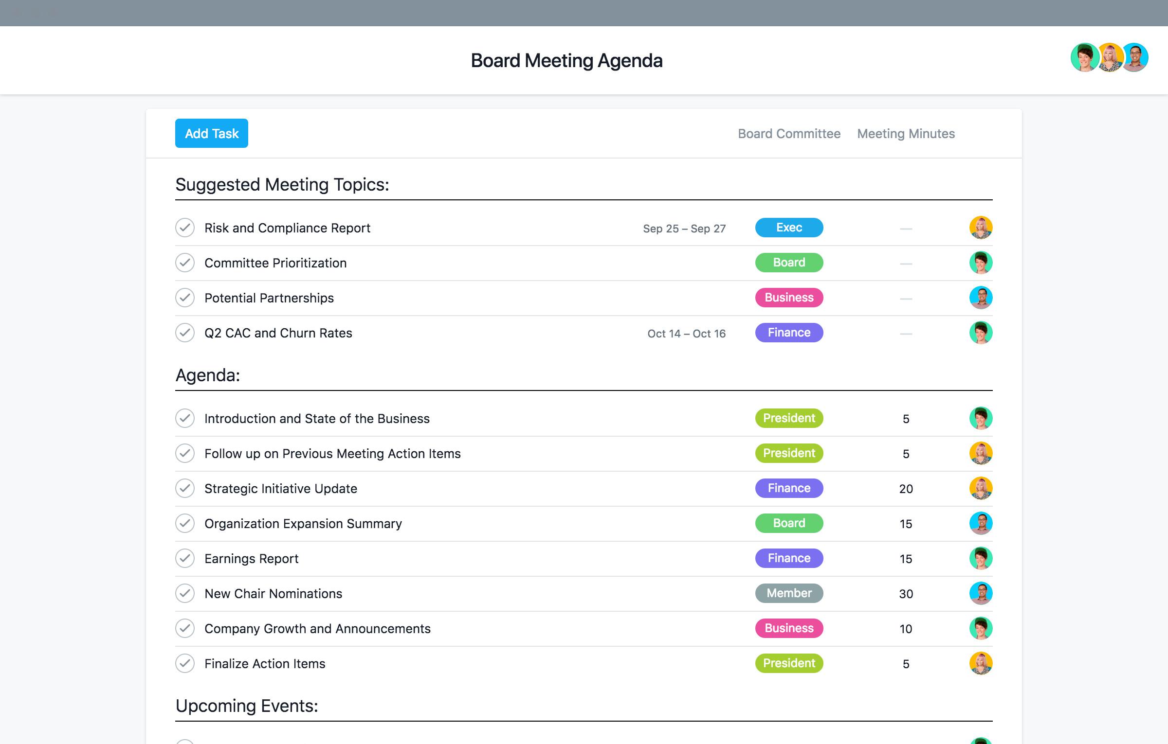 Nonprofit Board Meeting Agenda Template Nonprofit Board Meeting Agenda Template and Best Practices
