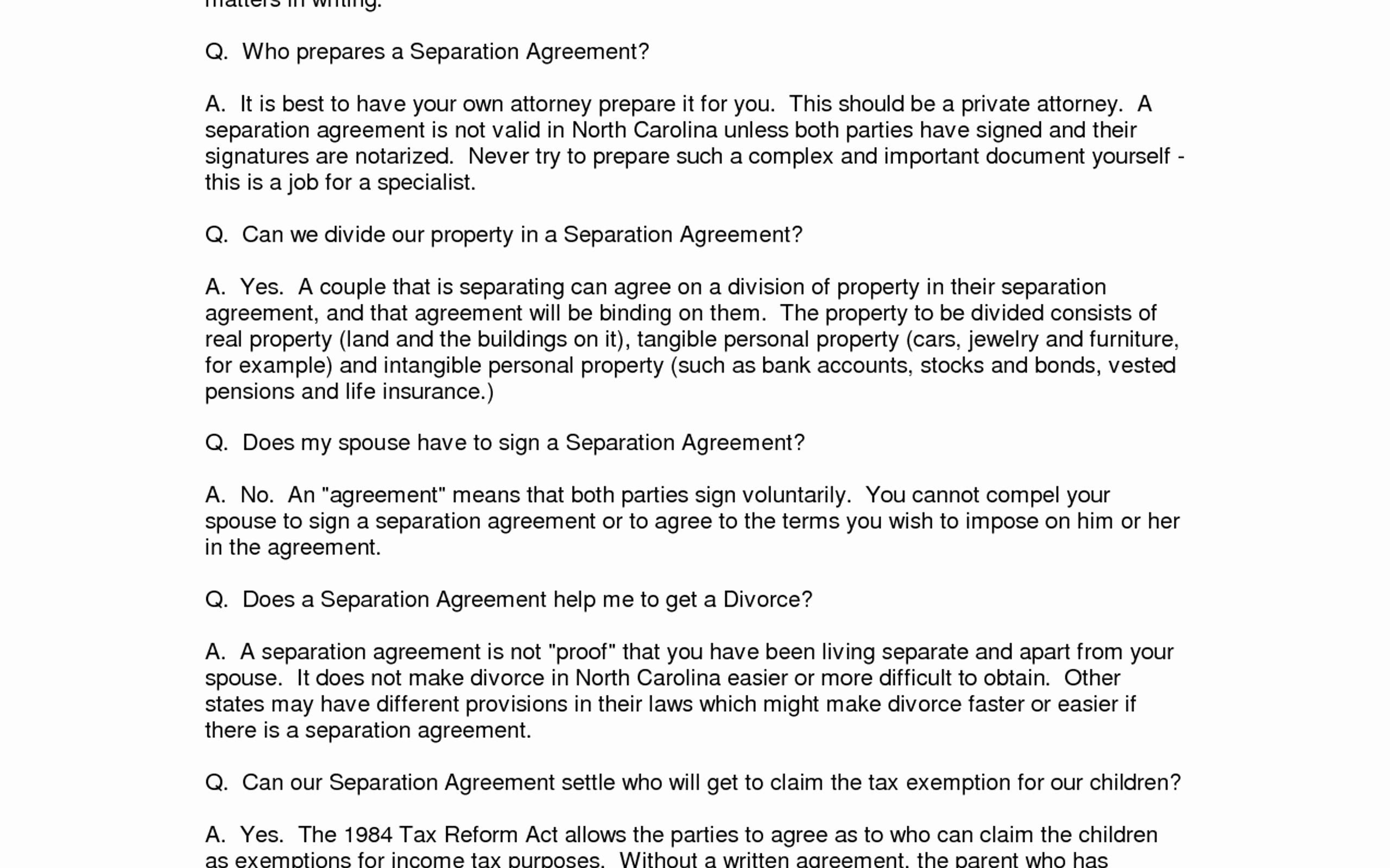 Notarized Custody Agreement Template Notarized Custody Agreement Template 2018
