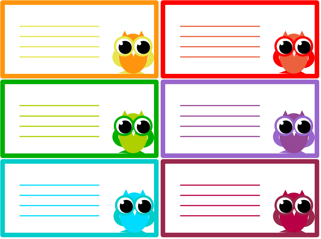 Note Card Template Free A Beginner Craft Journal My First Free Printables Owl