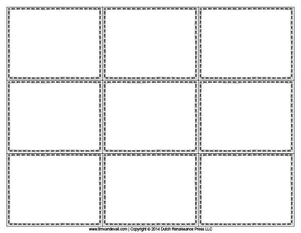 Note Card Template Free Blank Flash Card Templates Printable Flash Cards