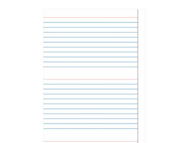 Note Card Template Free Index Card Template