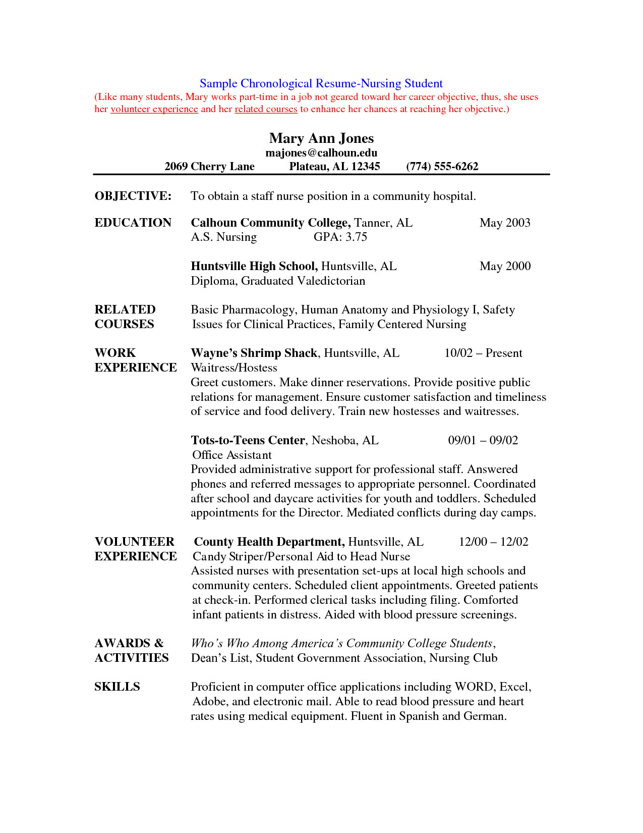 Nursing Student Resumes Examples Cover Letters for Nursing Job Application Pdf
