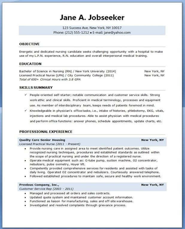 Nursing Student Resumes Examples Sample Resume for Nursing Student School Dayz