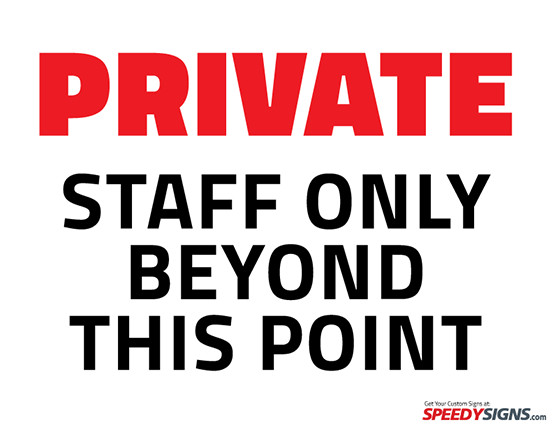 Office Door Signs Templates Free Private Staff Ly Beyond This Point Printable Sign