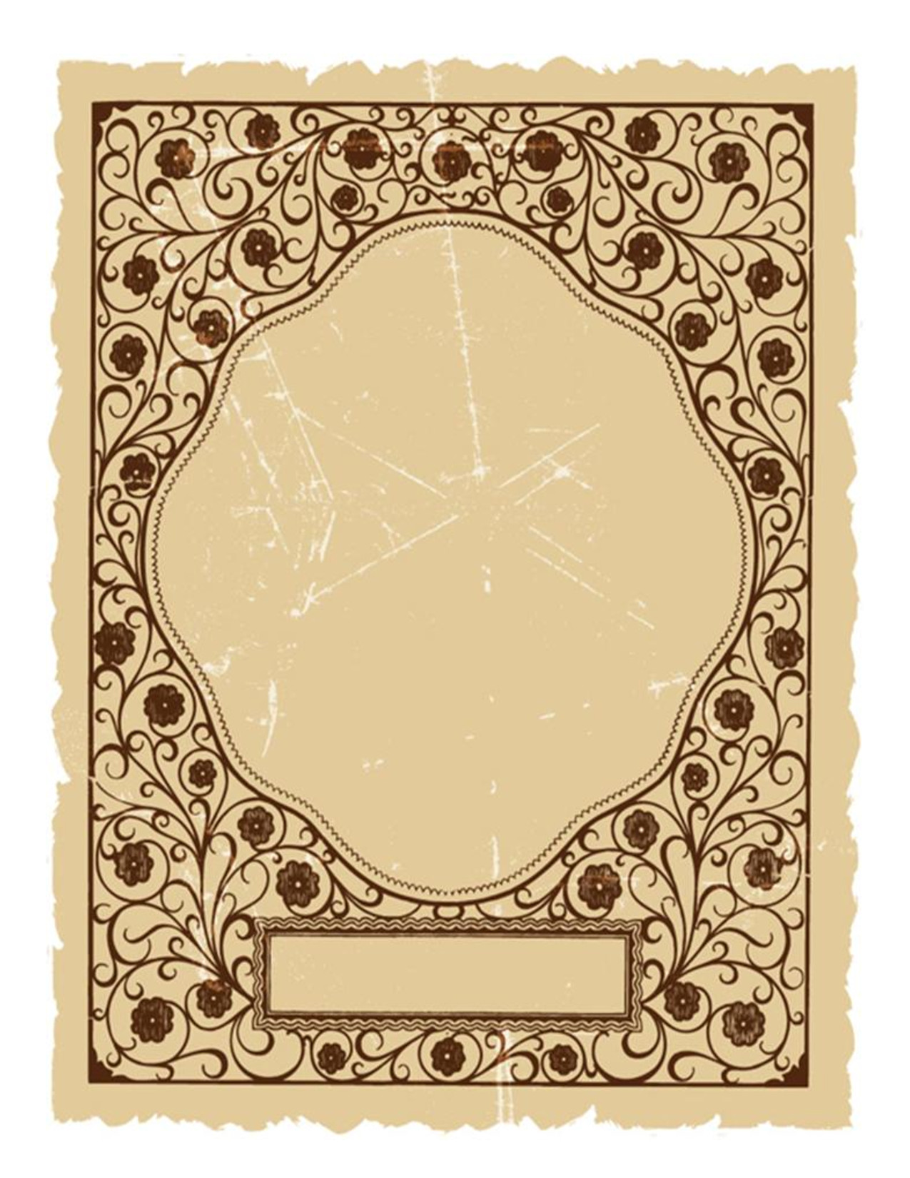 Old Book Cover Template 10 Best Of Free Printable Cookbook Cover Templates