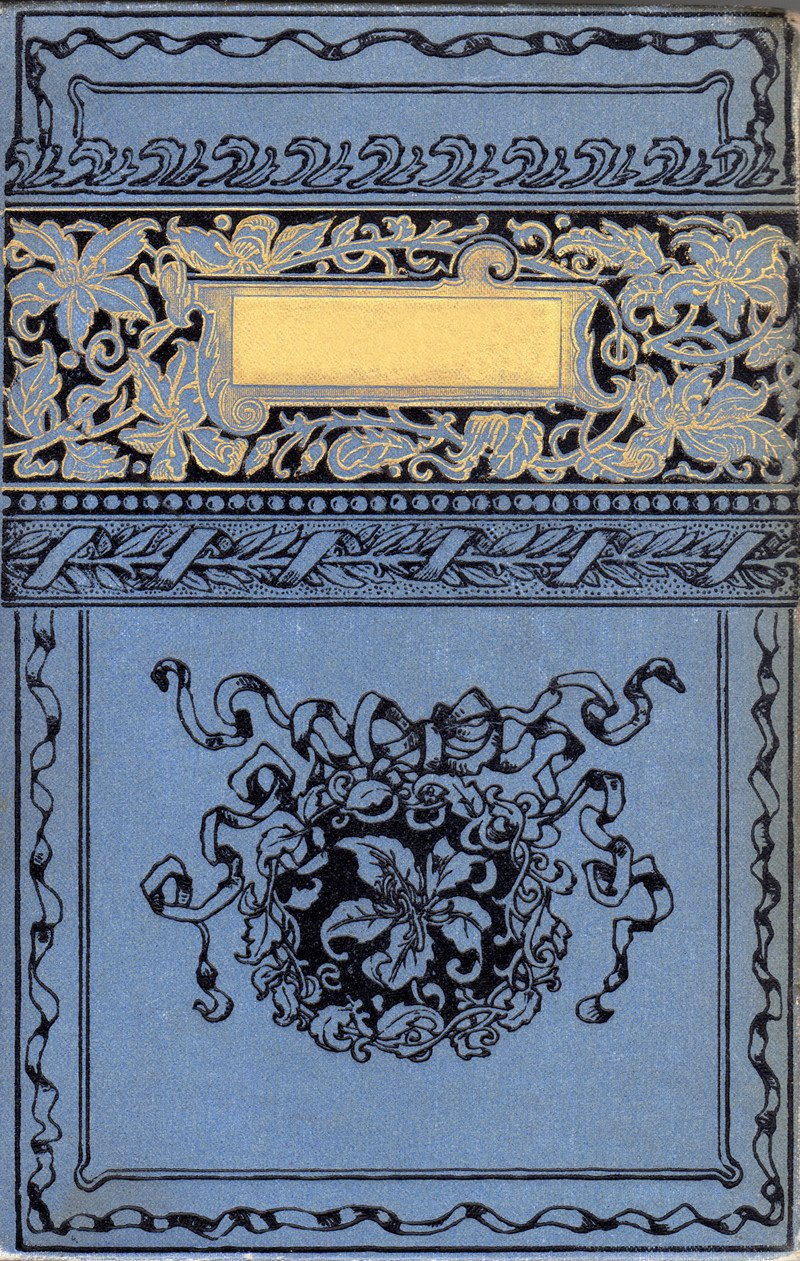 Old Book Cover Template Antique Book Cover Digital Download
