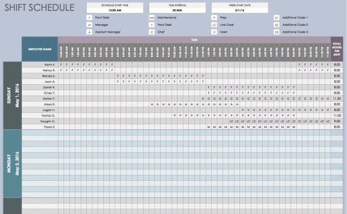 On Call Schedule Template Call Calendar Rotation Template
