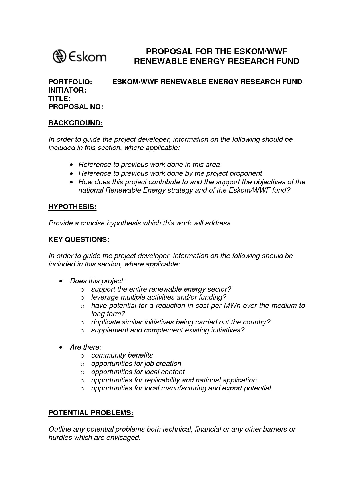 One Page Proposal Template Best S Of Example A 1 Page Proposal E Page