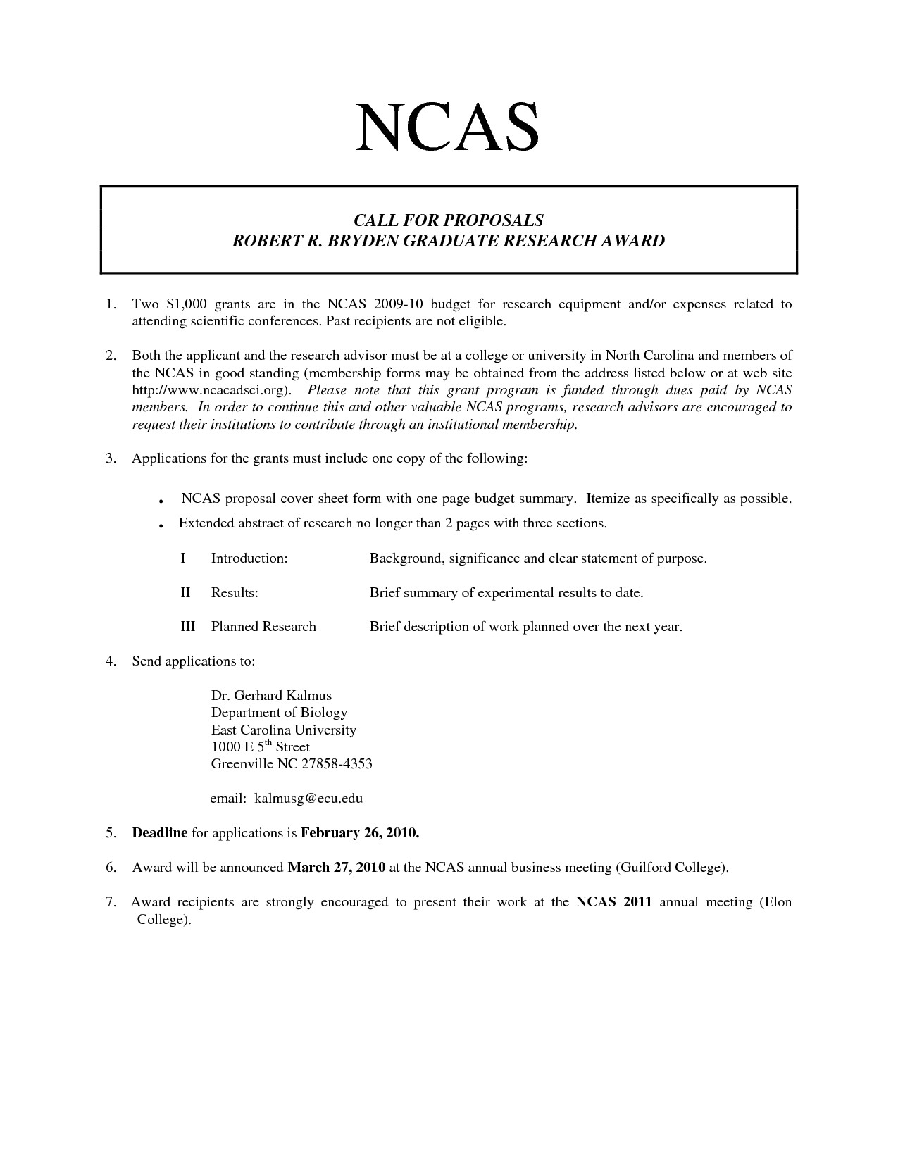 One Page Proposal Template Florida Literacy Coalition Literacy Resources Research