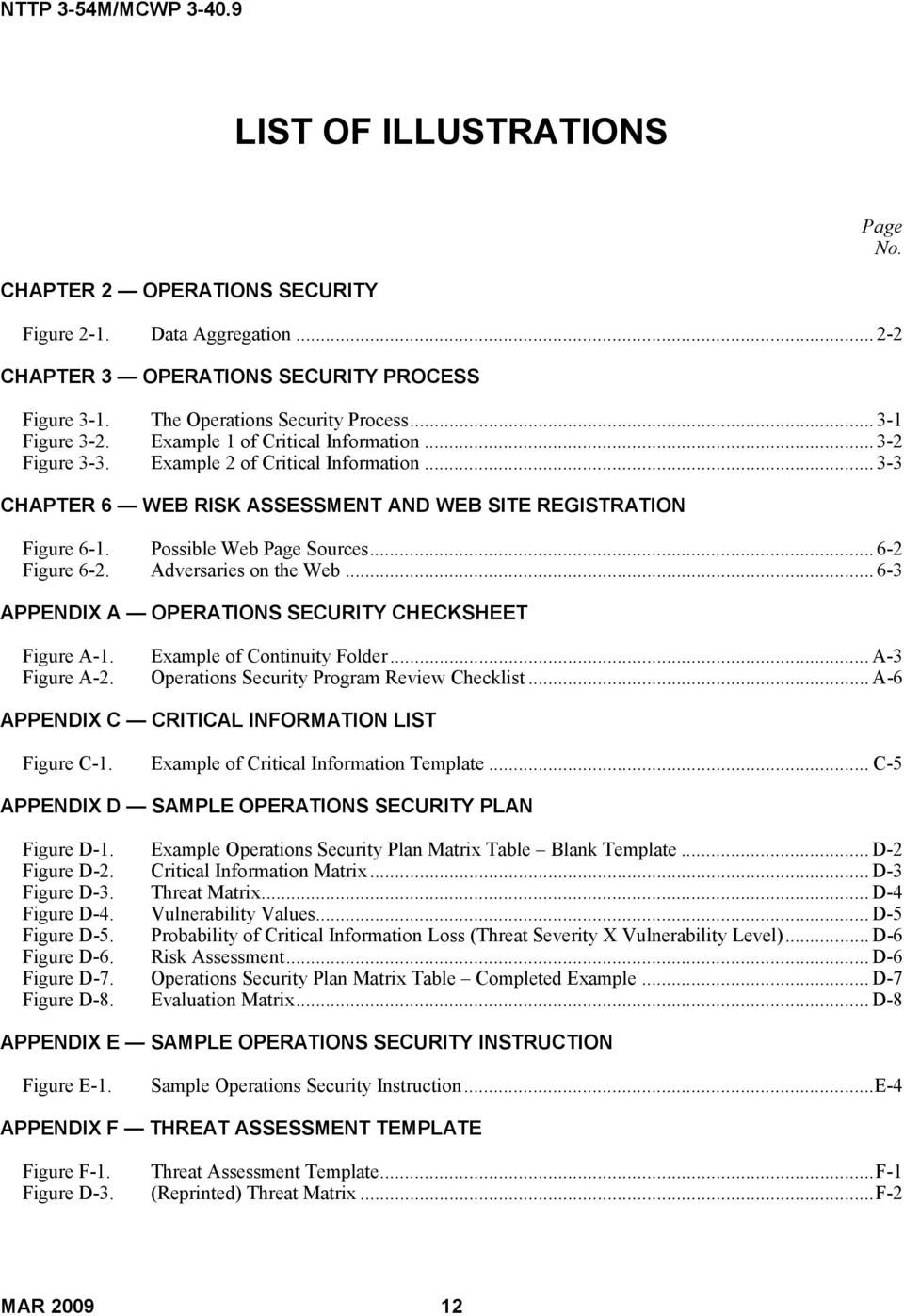 Opsec Plan Template 23 Of Operational Security Plan Template