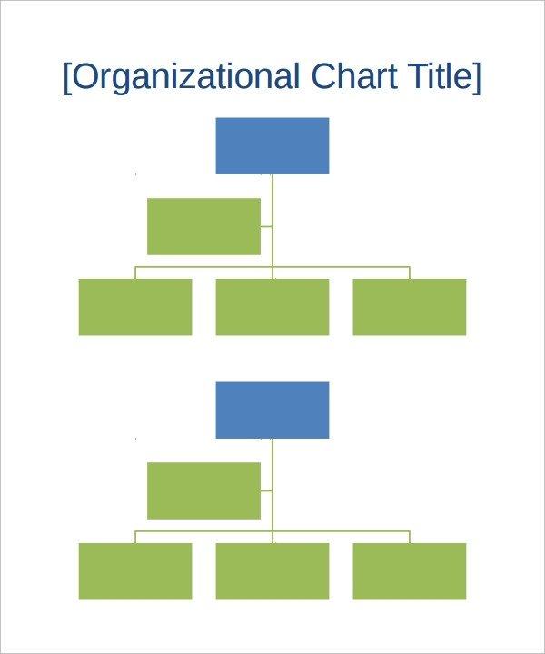 Organizational Chart Template Word 17 Sample organizational Chart Templates Pdf Word Excel