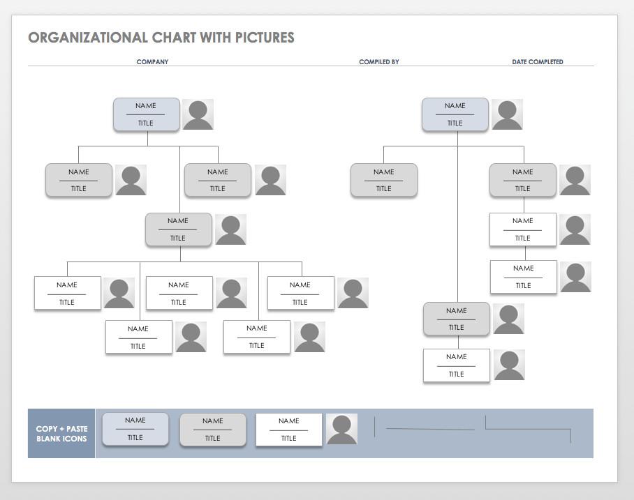 Organizational Chart Template Word Free organization Chart Templates for Word