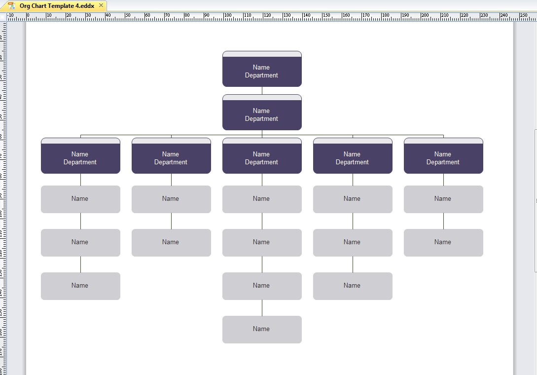 Organizational Chart Template Word Microsoft organizational Chart Template