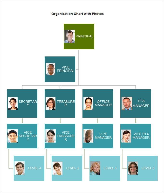 Organizational Chart Template Word organizational Chart Template 19 Free Word Excel Pdf