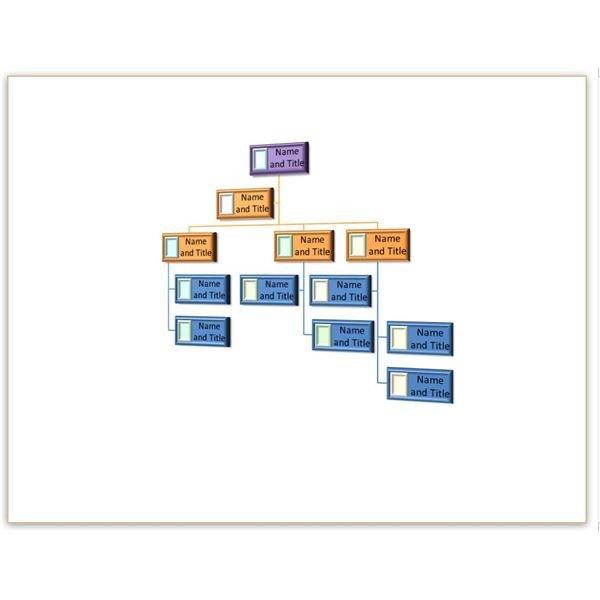 Organizational Chart Template Word Two Free Blank organizational Chart Template to Download