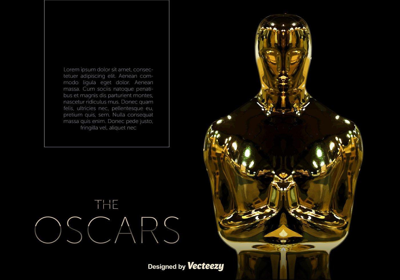 Vector Oscar Statue Template Download Free Vector Art