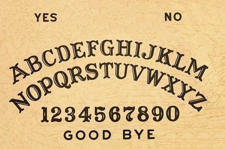 Ouija Board Invitation Template Custom Ouija Board Printable Templates Invitation