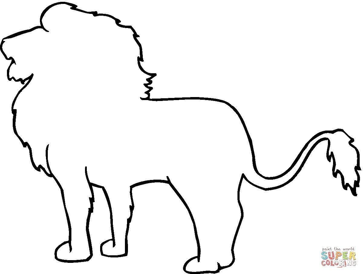 Animal Outline Drawings
