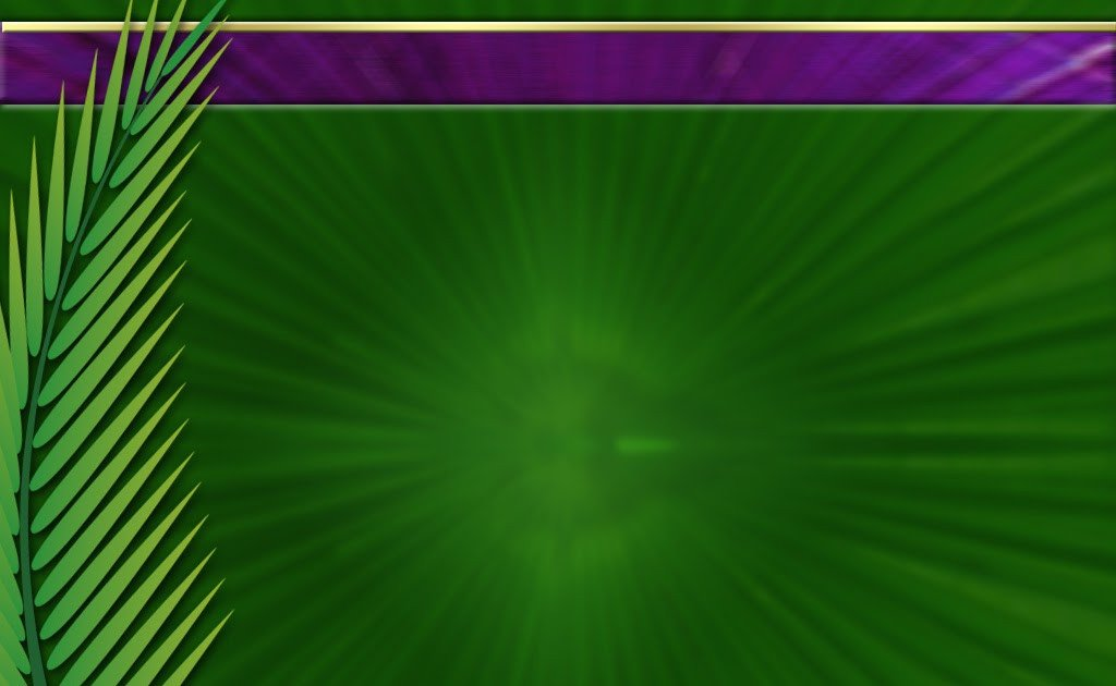 SundayGraphx PPT BACKGROUND FOR PALM SUNDAY Fondo PPT