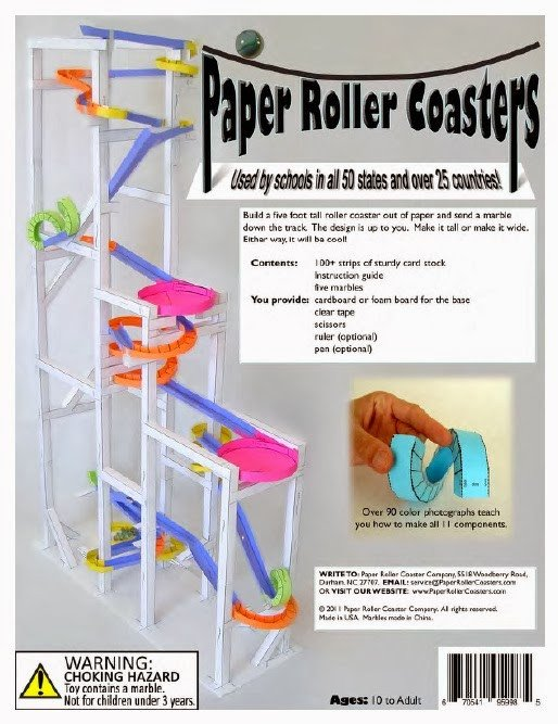 Paper Roller Coaster Templates the Hemulen S Dress Building A Roller Coaster