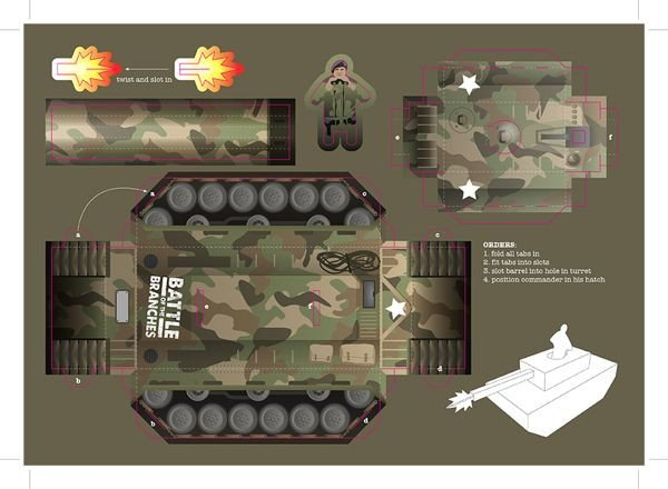 Papercraft Tank Template 20 Best Army Images On Pinterest