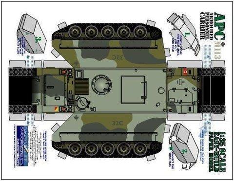 Papercraft Tank Template 34 Best 3d Car Puzzles Images On Pinterest