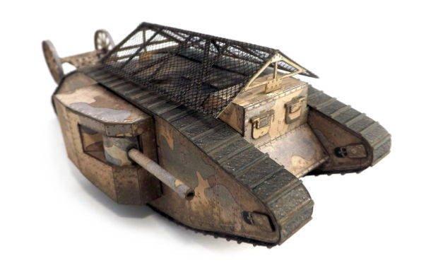 Papercraft Tank Template [new Paper Craft] World Of Tanks – Tank Mark I Free Paper