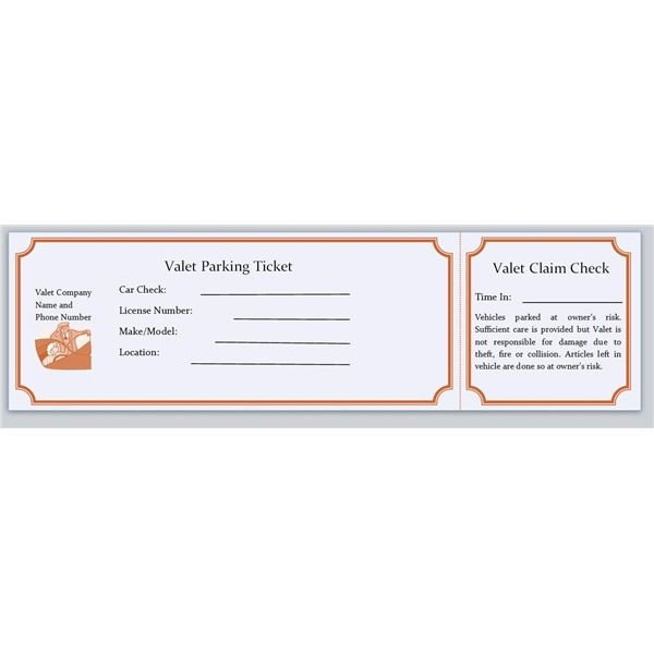 Download & Use Free Microsoft Publisher Parking Ticket