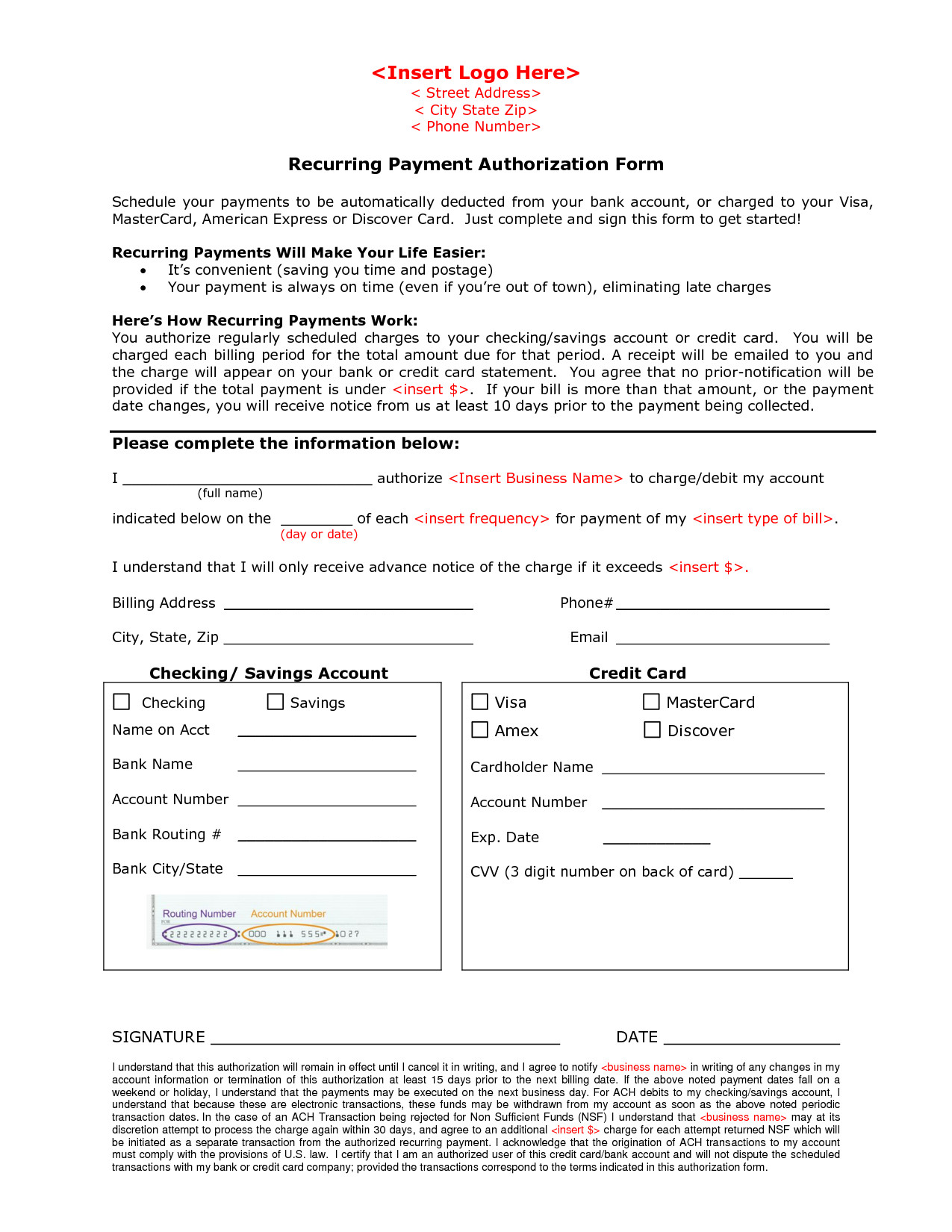 Payment Authorization form Template 27 Of Payment Approval form Template
