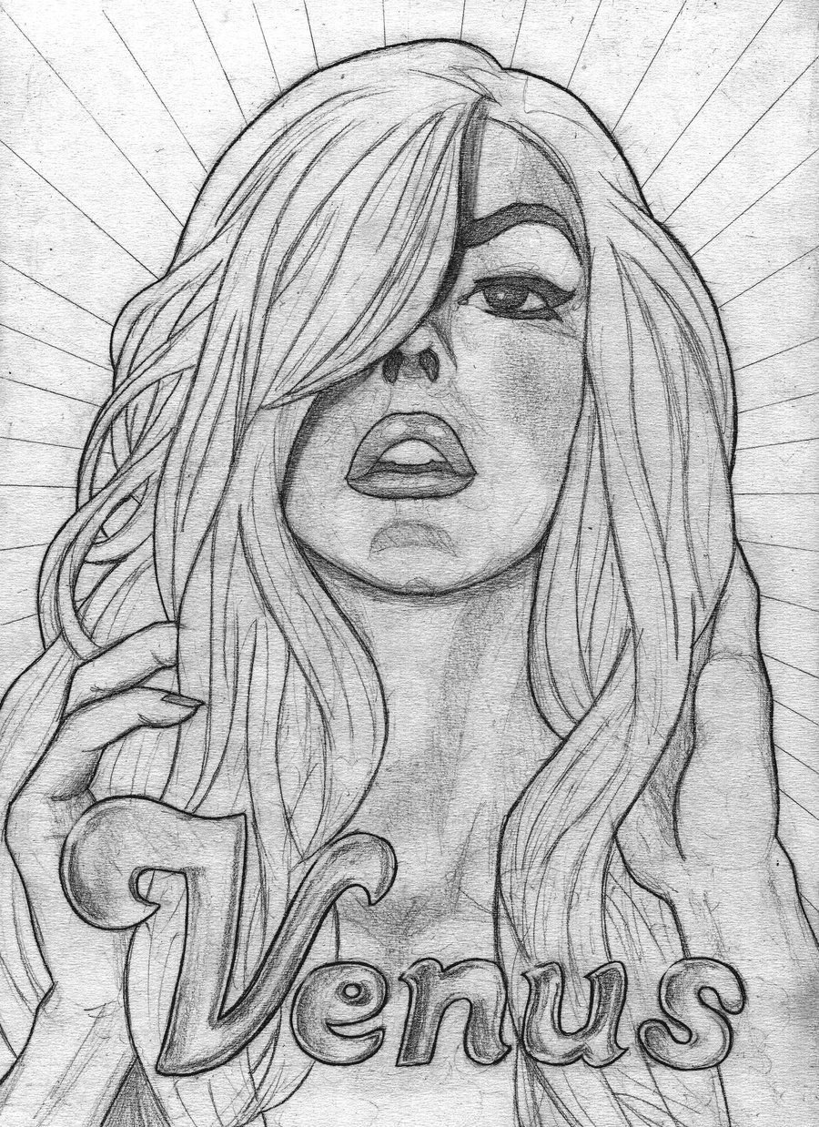 Pencil Drawings Of Love Venus Goddess Drawing Drawings
