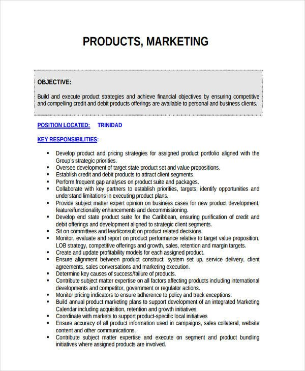 Personal Marketing Plan Example 42 Marketing Plan Examples & Samples Pdf Word Pages