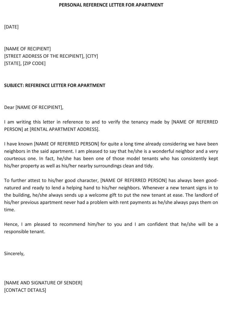 Personal Recommendation Letter Template Personal Re Mendation Letter 25 Sample Letters and