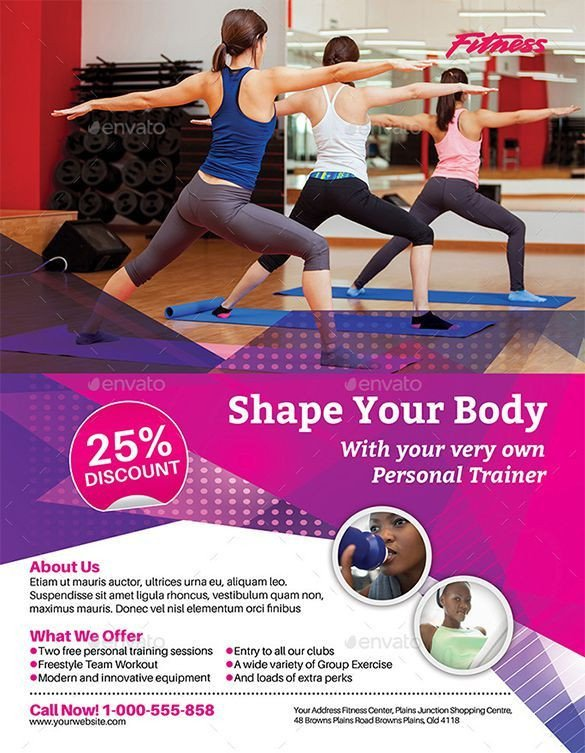 Personal Trainer Flyer Template 1000 Images About Dm & Subscriptions On Pinterest