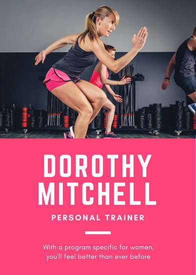 Personal Trainer Flyer Template Customize 102 Fitness Flyer Templates Online Canva