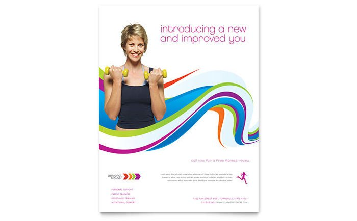 Personal Trainer Flyer Template Personal Trainer Flyer Template Design