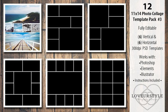 Photo Collage Template Download 12 Best Wedding Album Templates for Your Studio