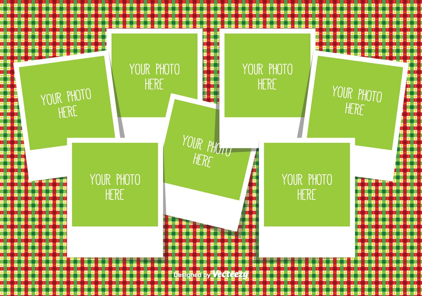 Photo Collage Template Download Christmas Collage Template Download Free Vector