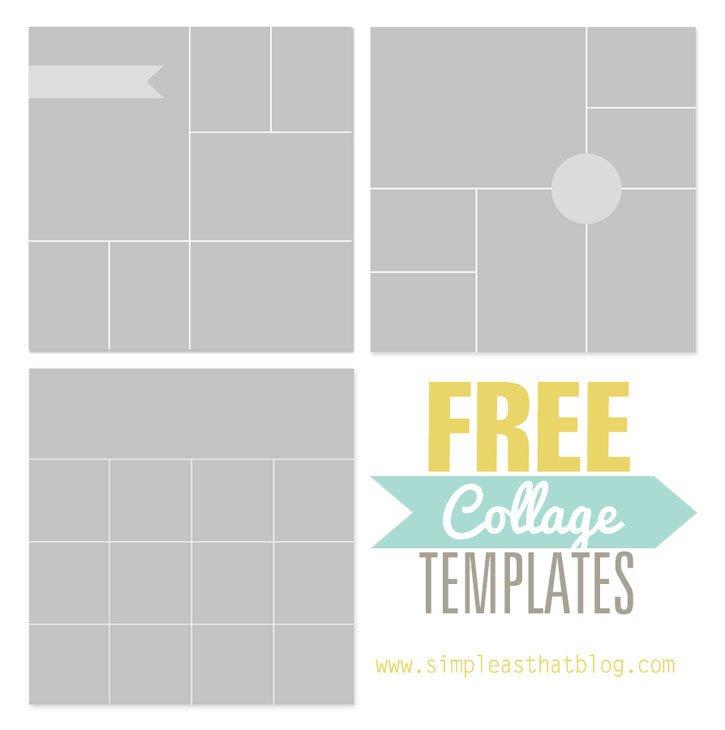 Photo Collage Template Download Free Collage Templates From Simple as that
