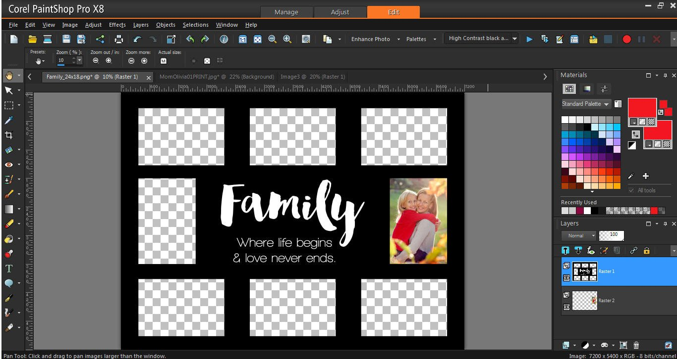Photo Collage Template Download How to Use Collage Templates Corel Discovery Center