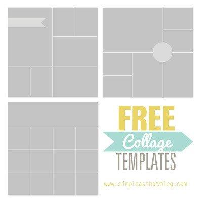 Free Collage Templates – [ e Velvet Morning ]