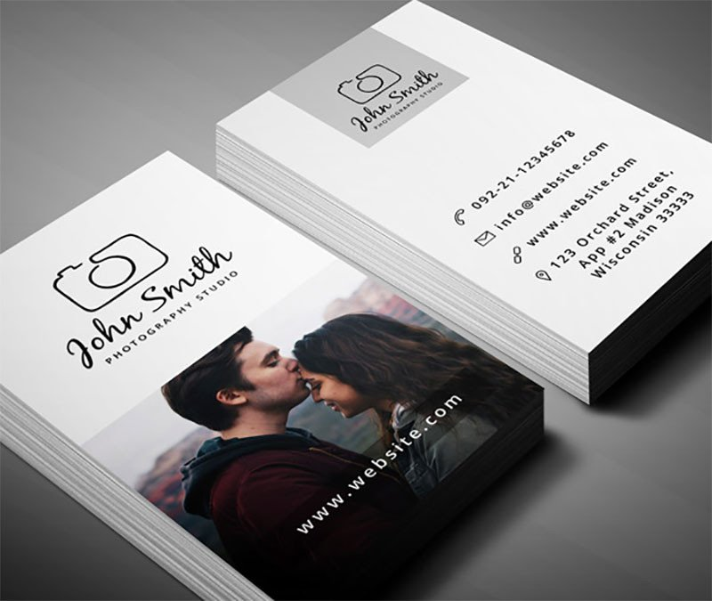 Photography Business Card Templates 99 Free Business Card Psd Templates