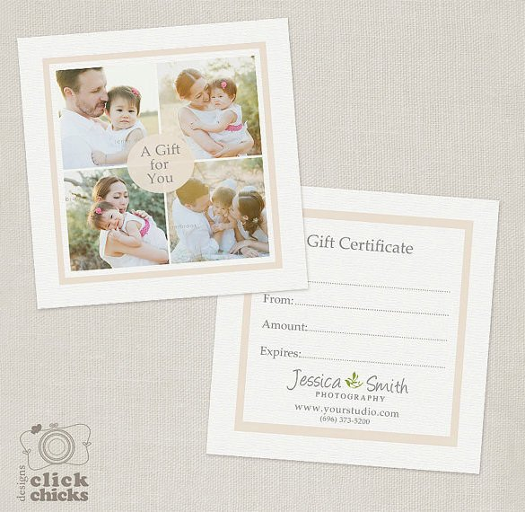 Photography Gift Certificate Template Graphy Gift Certificate Templates – 17 Free Word