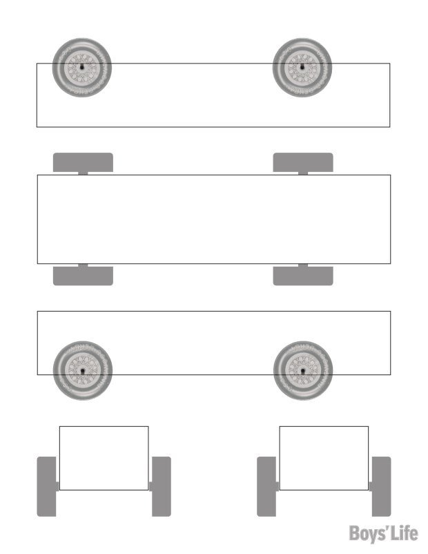 Pinewood Derby Car Templates Download A Free Pinewood Derby Car Design Template – Boys
