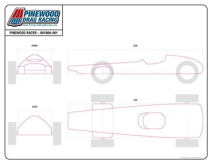 Pinewood Derby Car Templates Free Pinewood Derby Template by Sin Customs